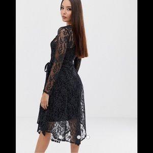 ASOS slip lace dress